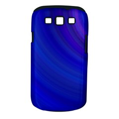 Blue Background Abstract Blue Samsung Galaxy S Iii Classic Hardshell Case (pc+silicone)