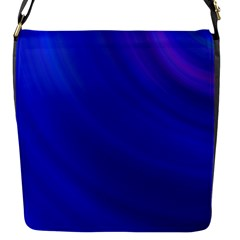 Blue Background Abstract Blue Flap Messenger Bag (s)