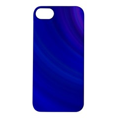 Blue Background Abstract Blue Apple Iphone 5s/ Se Hardshell Case