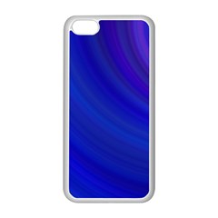Blue Background Abstract Blue Apple Iphone 5c Seamless Case (white)