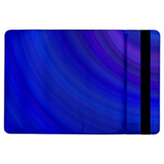 Blue Background Abstract Blue Ipad Air 2 Flip