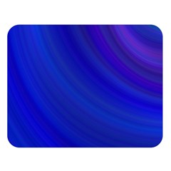 Blue Background Abstract Blue Double Sided Flano Blanket (large)