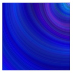 Blue Background Abstract Blue Large Satin Scarf (square)