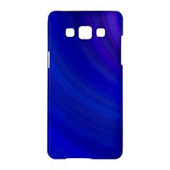 Blue Background Abstract Blue Samsung Galaxy A5 Hardshell Case