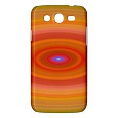 Ellipse Background Orange Oval Samsung Galaxy Mega 5 8 I9152 Hardshell Case