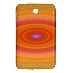 Ellipse Background Orange Oval Samsung Galaxy Tab 3 (7 ) P3200 Hardshell Case