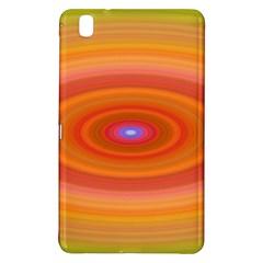 Ellipse Background Orange Oval Samsung Galaxy Tab Pro 8 4 Hardshell Case