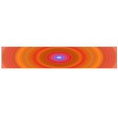 Ellipse Background Orange Oval Flano Scarf (large)
