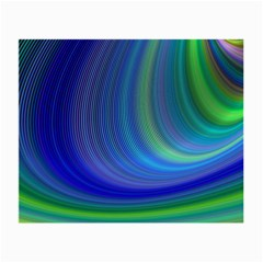 Space Design Abstract Sky Storm Small Glasses Cloth