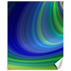 Space Design Abstract Sky Storm Canvas 16  X 20