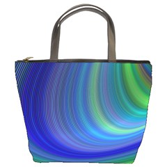 Space Design Abstract Sky Storm Bucket Bags