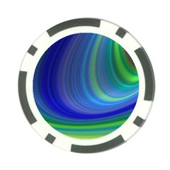 Space Design Abstract Sky Storm Poker Chip Card Guard (10 Pack)