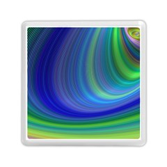 Space Design Abstract Sky Storm Memory Card Reader (square)