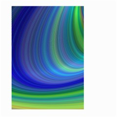 Space Design Abstract Sky Storm Large Garden Flag (two Sides)