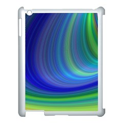 Space Design Abstract Sky Storm Apple Ipad 3/4 Case (white)