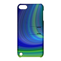 Space Design Abstract Sky Storm Apple Ipod Touch 5 Hardshell Case With Stand