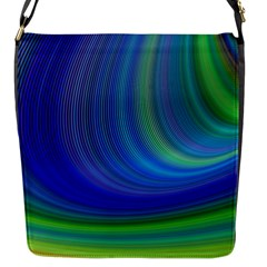 Space Design Abstract Sky Storm Flap Messenger Bag (s)