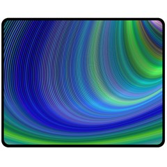 Space Design Abstract Sky Storm Double Sided Fleece Blanket (medium)