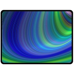 Space Design Abstract Sky Storm Double Sided Fleece Blanket (large)