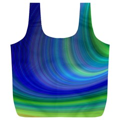 Space Design Abstract Sky Storm Full Print Recycle Bags (l)