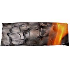 Fireplace Flame Burn Firewood Body Pillow Case Dakimakura (two Sides)