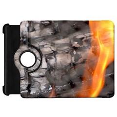 Fireplace Flame Burn Firewood Kindle Fire Hd 7