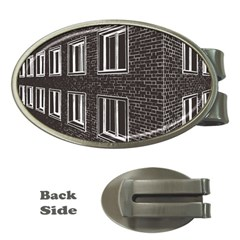 Graphics House Brick Brick Wall Money Clips (oval)