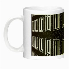Graphics House Brick Brick Wall Night Luminous Mugs