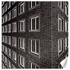 Graphics House Brick Brick Wall Canvas 16  X 16