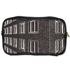 Graphics House Brick Brick Wall Toiletries Bags 2 Side