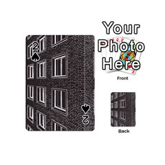 Graphics House Brick Brick Wall Playing Cards 54 (mini)