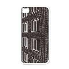 Graphics House Brick Brick Wall Apple Iphone 4 Case (white)