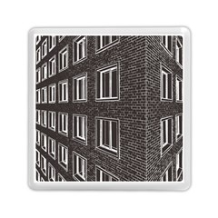 Graphics House Brick Brick Wall Memory Card Reader (square)