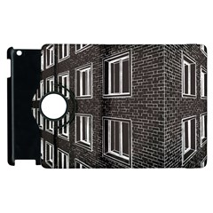 Graphics House Brick Brick Wall Apple Ipad 3/4 Flip 360 Case