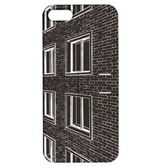 Graphics House Brick Brick Wall Apple Iphone 5 Hardshell Case With Stand