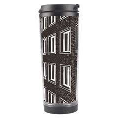 Graphics House Brick Brick Wall Travel Tumbler