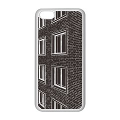 Graphics House Brick Brick Wall Apple Iphone 5c Seamless Case (white)