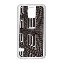 Graphics House Brick Brick Wall Samsung Galaxy S5 Case (white)