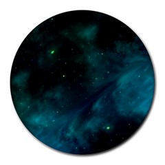 Space All Universe Cosmos Galaxy Round Mousepads
