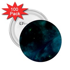 Space All Universe Cosmos Galaxy 2 25  Buttons (100 Pack)