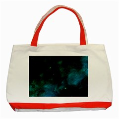 Space All Universe Cosmos Galaxy Classic Tote Bag (red)