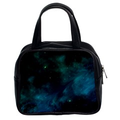Space All Universe Cosmos Galaxy Classic Handbags (2 Sides)