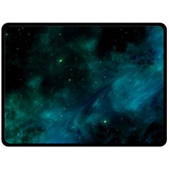 Space All Universe Cosmos Galaxy Fleece Blanket (large)