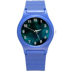 Space All Universe Cosmos Galaxy Round Plastic Sport Watch (s)