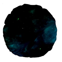Space All Universe Cosmos Galaxy Large 18  Premium Round Cushions