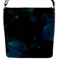 Space All Universe Cosmos Galaxy Flap Messenger Bag (s)