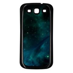 Space All Universe Cosmos Galaxy Samsung Galaxy S3 Back Case (black)