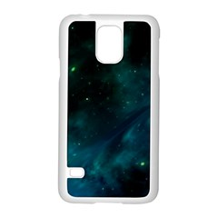 Space All Universe Cosmos Galaxy Samsung Galaxy S5 Case (white)