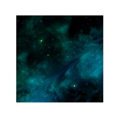 Space All Universe Cosmos Galaxy Small Satin Scarf (square)