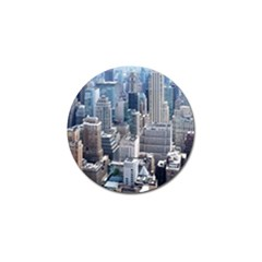 Manhattan New York City Golf Ball Marker (10 Pack)